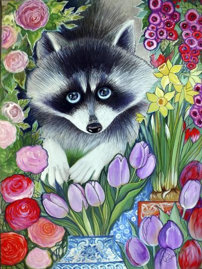 Raccoon-Oxana Zaika-Giclee Print