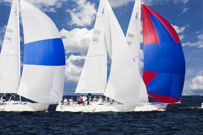 Race at Annapolis 2-Alan Hausenflock-Photographic Print