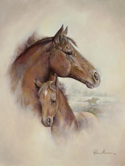 Race Horse II-Ruane Manning-Premium Giclee Print