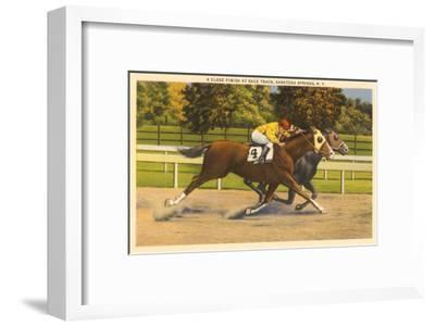 Race Horses, Saratoga Springs, New York