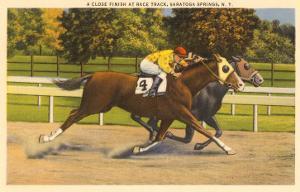 Race Horses, Saratoga Springs
