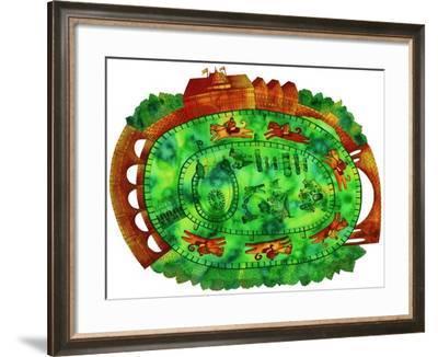 Racecourse, 1998-Julie Nicholls-Framed Giclee Print