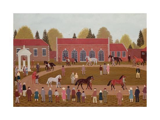 Racehorse Sales-Vincent Haddelsey-Giclee Print