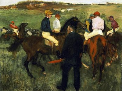 Racehorses-Edgar Degas-Giclee Print