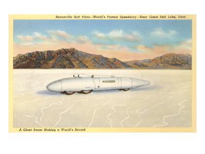 Racer, Bonneville Salt Flats, Utah--Art Print