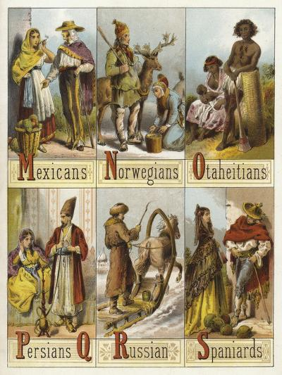 Races of the World--Giclee Print