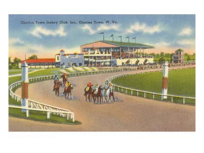 Racetrack, Charles Town, West Virginia--Art Print