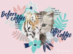 Coffee Cat by Rachael Hale
