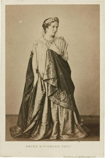 Rachel as Phèdre, Mid of the 19th C--Giclee Print