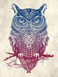 Warrior Owl by Rachel Caldwell
