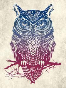 Warrior Owl by Rachel Caldwell
