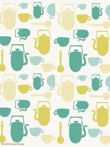Kitchen Pattern by Rachel Gresham