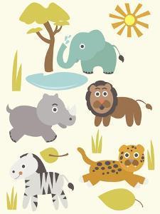 Safari Zoo by Rachel Gresham