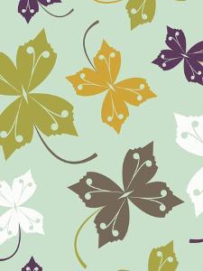 Sycamore Leaves by Rachel Gresham