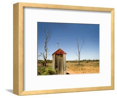 Classic Australian Outdoor Toilet (Dunny)