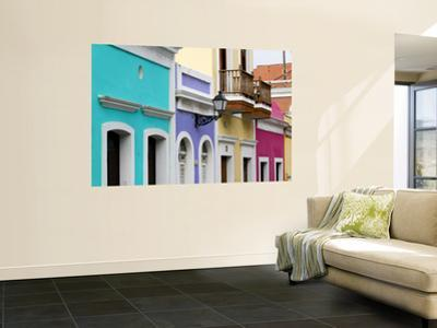 Colourful Colonial Architecture in Old San Juan