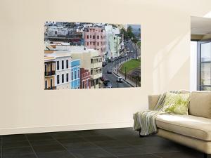 Colourful Houses Along Calle Norzagaray, Old San Juan by Rachel Lewis