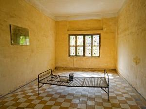 Former Prison Cell for Khmer Rouge Victims Captured and Tortured at Security Prison S-21 by Rachel Lewis
