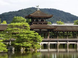 Taihei-Kaku (Hashidono) Cypress Bark-Shingled Wooden Bridge by Rachel Lewis