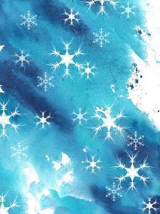 Blue Snowflakes by Rachel McNaughton