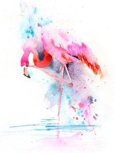 Flamingo On One Leg by Rachel McNaughton