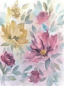Watercolor Floral by Rachel McNaughton