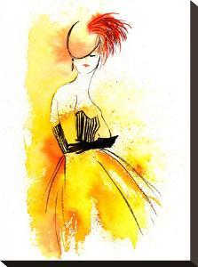 Yellow Dress by Rachel McNaughton
