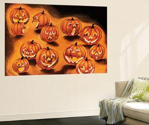 Pumpkin Smiles - Jack & Jill by Rachel Owings