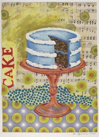 Birthday Cake by Rachel Paxton