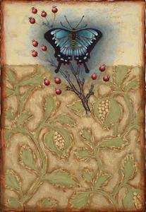 Salt Meadow Butterfly by Rachel Paxton