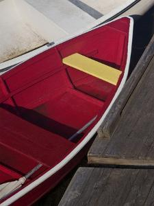 Row Boats VI by Rachel Perry