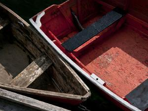 Wooden Rowboats IX by Rachel Perry