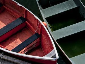 Wooden Rowboats VIII by Rachel Perry