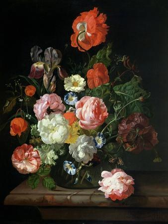 Flower in a Glass Vase