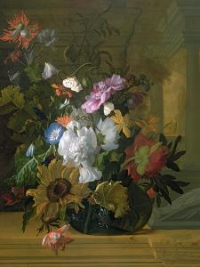 Flower Still Life by Rachel Ruysch