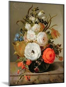 Still Life of Flowers in a Glass Vase, 1742 by Rachel Ruysch