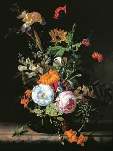 Still Life of Summer Flowers by Rachel Ruysch