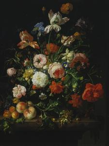 Still Life with Flowers and Fruit, 1707 by Rachel Ruysch