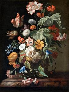 Still-Life with Flowers, c.1700 by Rachel Ruysch