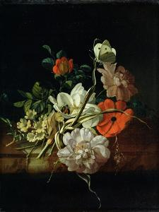 Still Life with Flowers by Rachel Ruysch