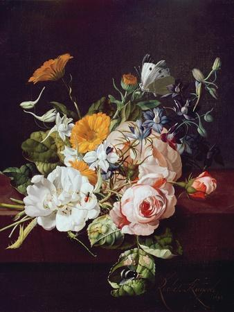Vase of Flowers, 1695