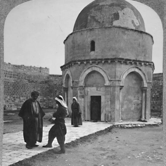 'Rachel's Tomb near Bethlehem', c1900-Unknown-Photographic Print