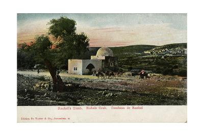 Rachel's Tomb, Near Bethlehem--Giclee Print