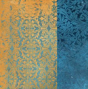 Powder Blue Lace I by Rachel Travis