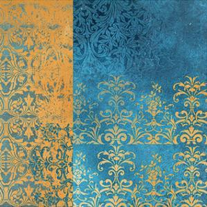 Powder Blue Lace II by Rachel Travis