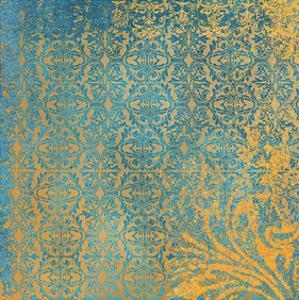 Powder Blue Lace III by Rachel Travis