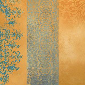Powder Blue Lace IV by Rachel Travis
