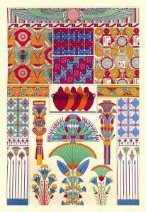 Egyptian Decor by Racinet