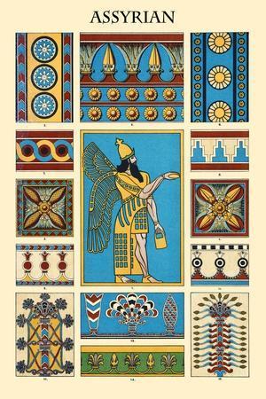Ornament-Assyrian