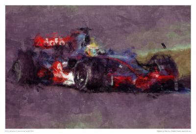 Racing Car 4-Jean-Fran?ois Dupuis-Art Print